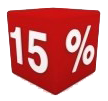 15% Off
